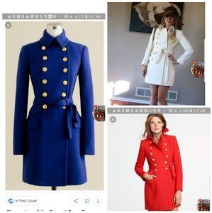 ISO j crew jcrew townhouse jacket coat sz 10 12